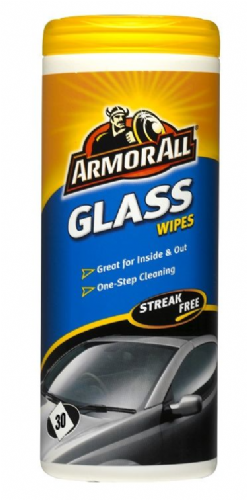 Armorall Windscreen Glass wipes (30 wipes)